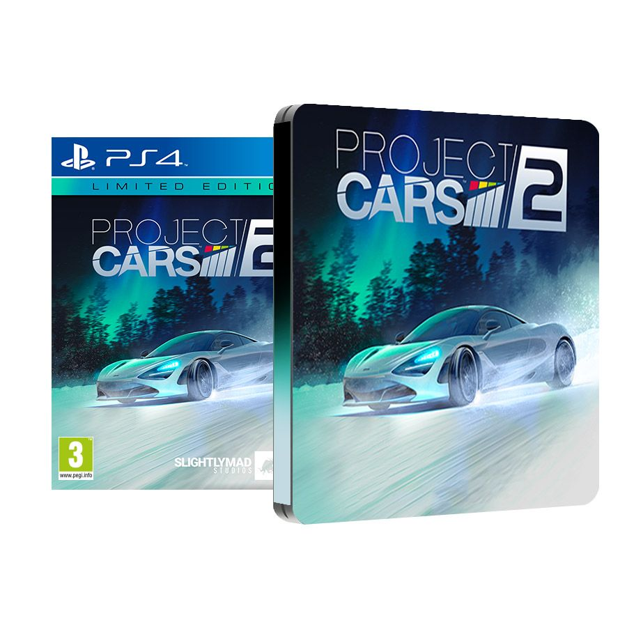 ps4 project cars 2 limited edition galerija. Black Bedroom Furniture Sets. Home Design Ideas