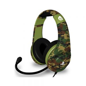 PS4 Camo Edition Stereo Gaming Headset Woodland