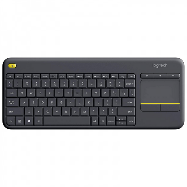 Logitech keyboard wireless K400 plus Bezicna Tastatura