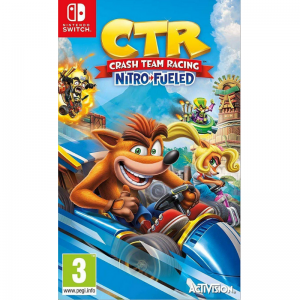 NSW SWITCH CRASH TEAM RACING NITRO- FUELED