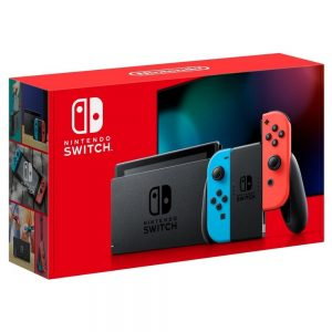 Nintendo Switch with Red & Blue Joy‑Con