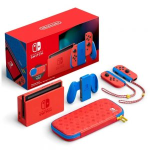 Nintendo Switch MARIO Red & Blue Special Edition