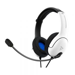 PS4_PS5 Wired Headset LVL40 White