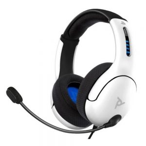 PS4_PS5 Wired Headset LVL50 White