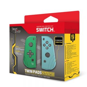 STEELPLAY - TWIN PADS - SET OF 2 WIRELESS CONTROLLERS -G&B (SWITCH)