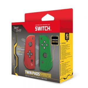 Nintendo Switch kontroleri STEELPLAY - TWIN PADS - SET OF 2 WIRELESS CONTROLLERS -R&G (SWITCH)