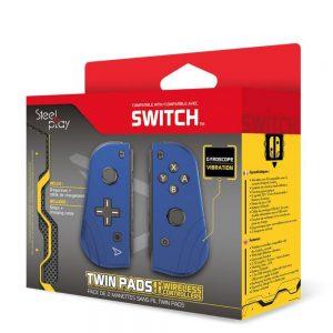 SteelPlay NSW Switch Joy-Con Pair Blue box
